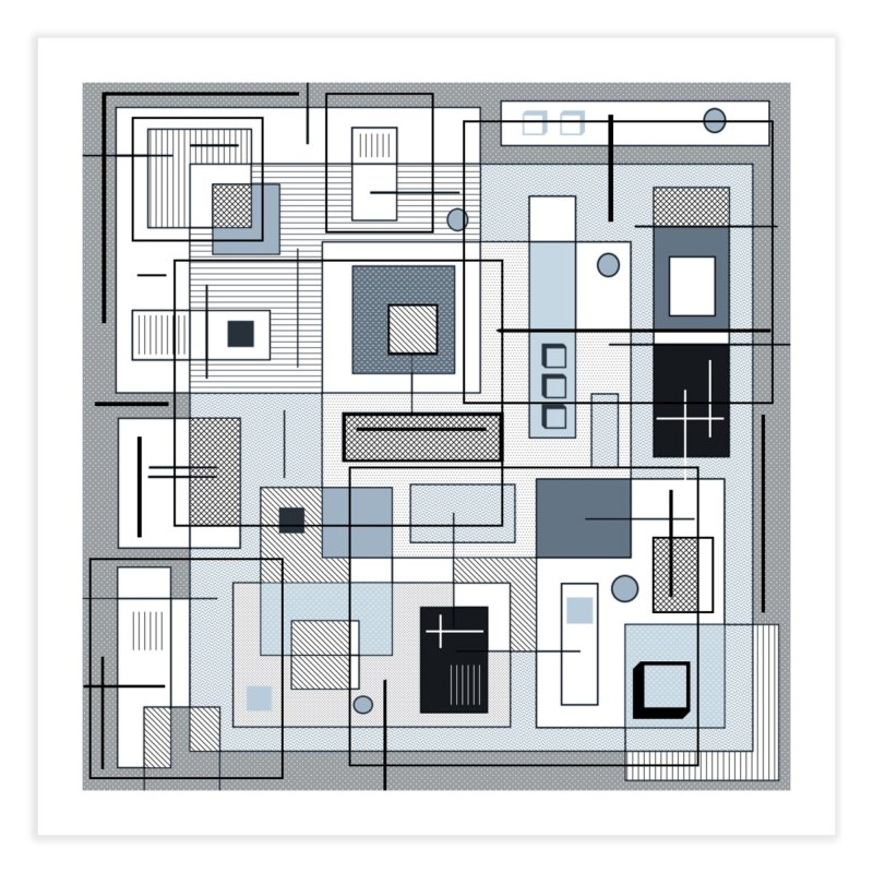 Extra Square Home Fine Art Print by Lady Ls Designs Artist Shop