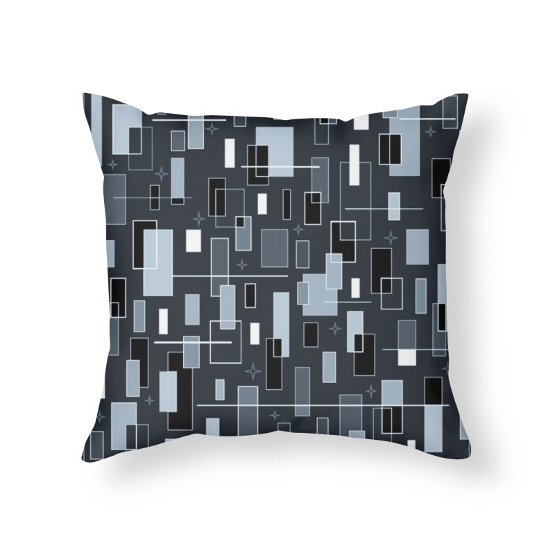 A Moody Blu Home Throw Pillow by Lady Ls Designs Artist Shop