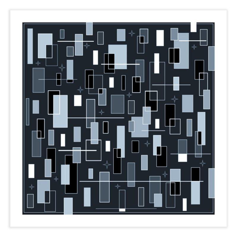 A Moody Blu Home Fine Art Print by Lady Ls Designs Artist Shop