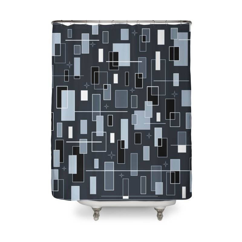 A Moody Blu Home Shower Curtain by Lady Ls Designs Artist Shop