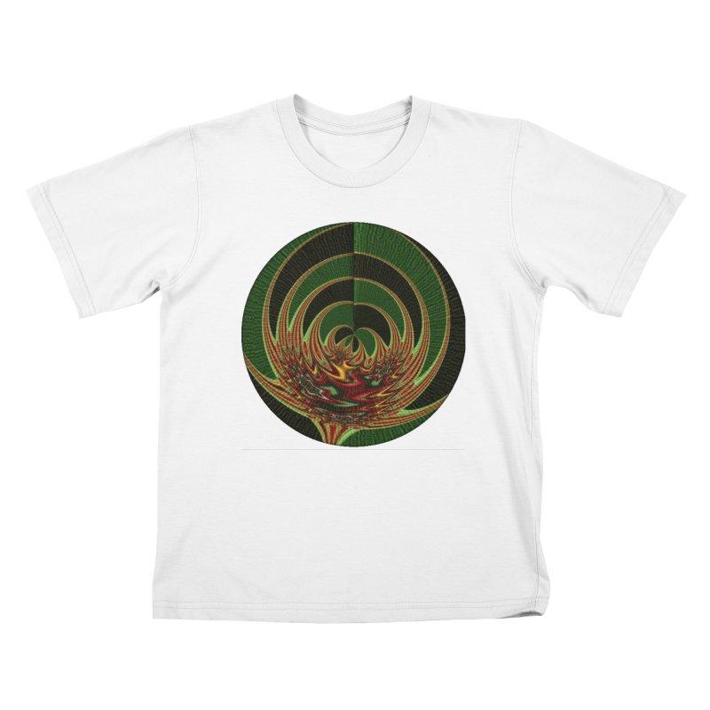 Zjarri Lule Kids T-Shirt by Lady Ls Designs Artist Shop