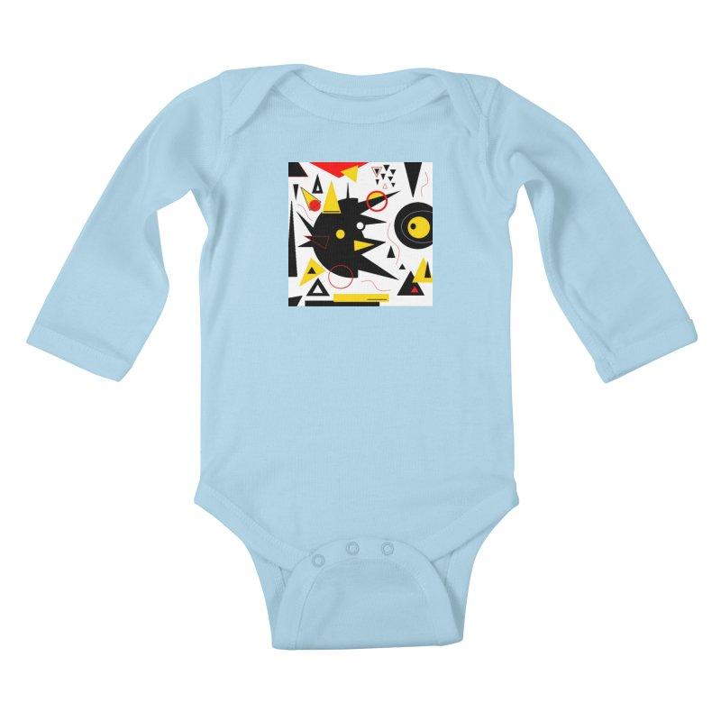 SoFarOffTrack Kids Baby Longsleeve Bodysuit by Lady Ls Designs Artist Shop