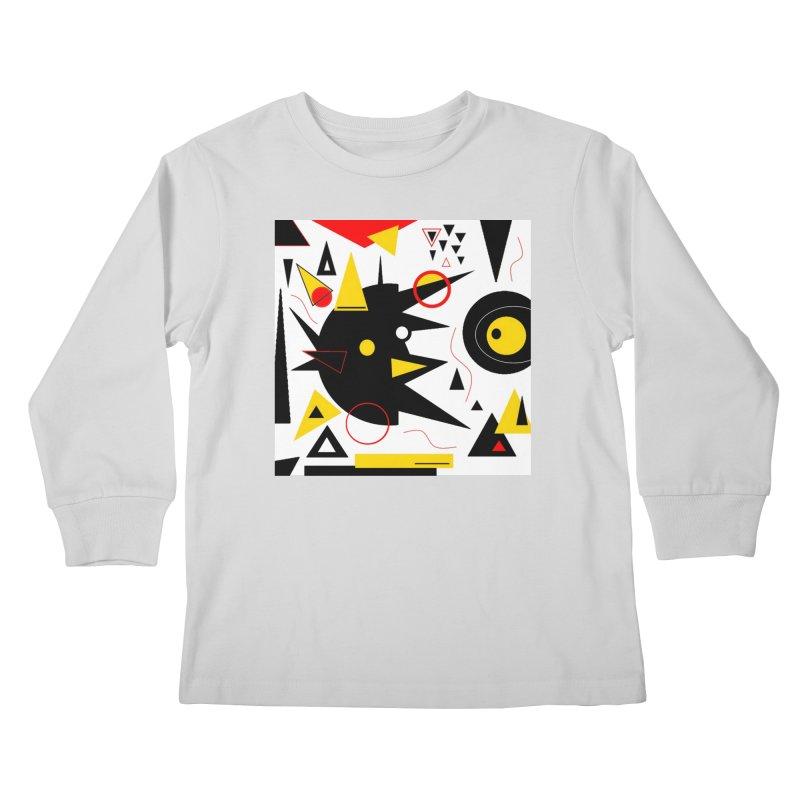 SoFarOffTrack Kids Longsleeve T-Shirt by Lady Ls Designs Artist Shop