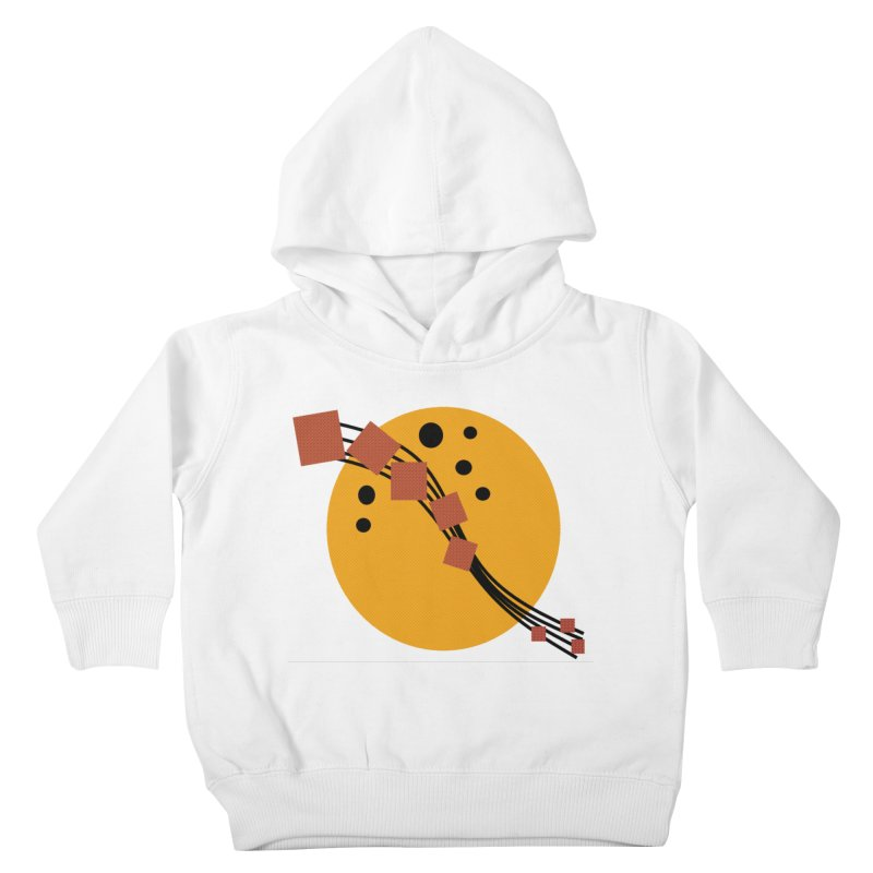 Music Moon Rising Kids Toddler Pullover Hoody by Lady Ls Designs Artist Shop