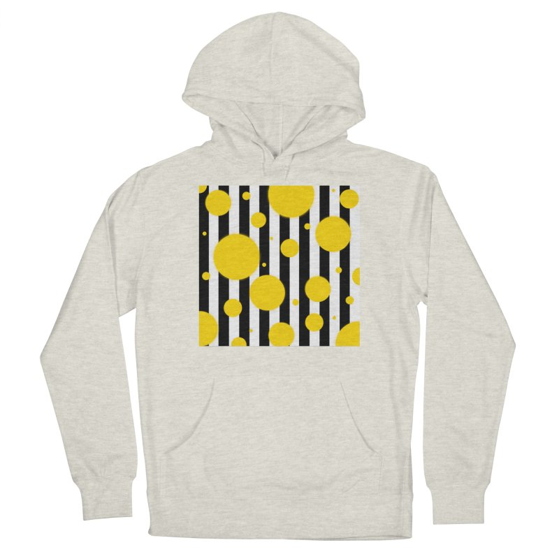 Fun Yellow Dots Women's Pullover Hoody by Lady Ls Designs Artist Shop