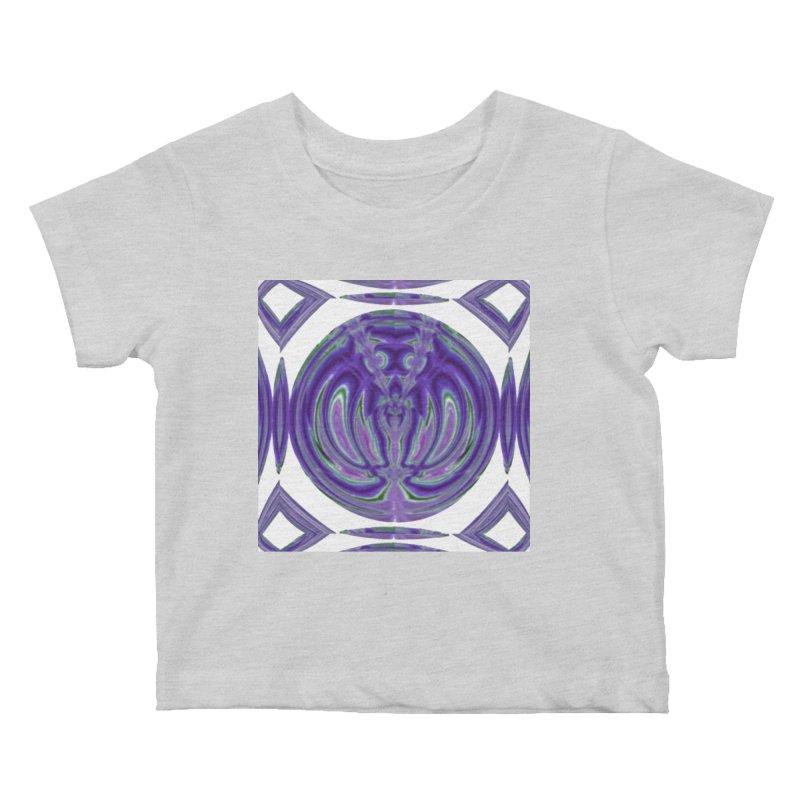 Eresus Cinnaberinus Kids Baby T-Shirt by Lady Ls Designs Artist Shop
