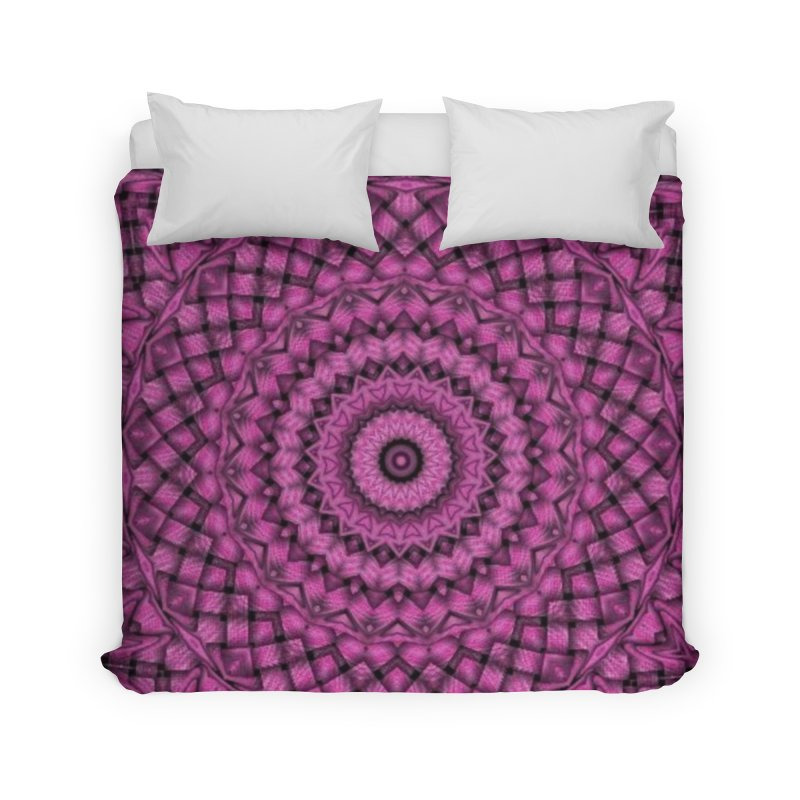 Armure Rose Home Duvet by Lady Ls Designs Artist Shop