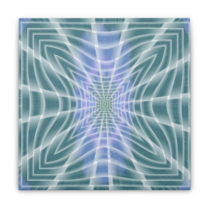 Aquamatic Home Stretched Canvas by Lady Ls Designs Artist Shop