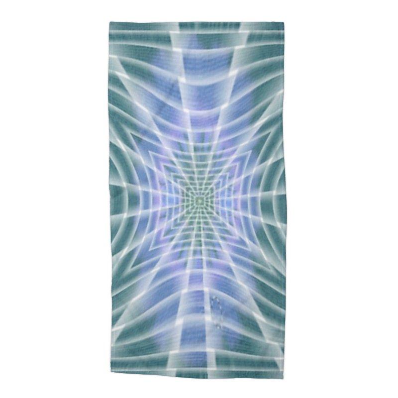 Aquamatic Accessories Beach Towel by Lady Ls Designs Artist Shop