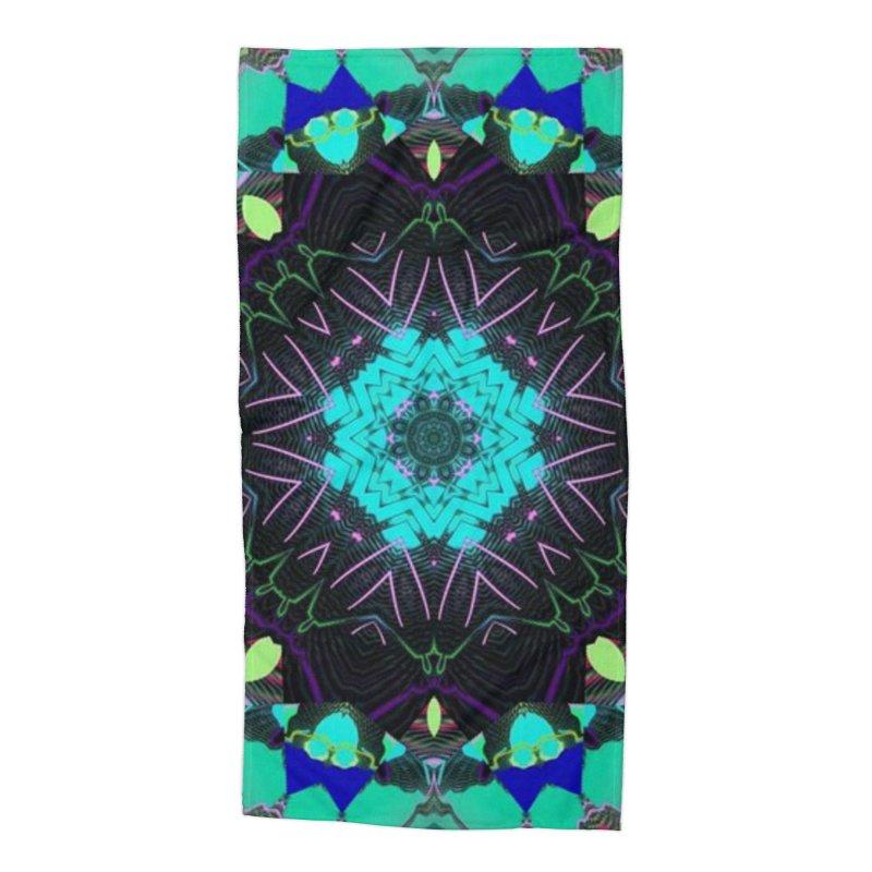 Alaskan Star Accessories Beach Towel by Lady Ls Designs Artist Shop