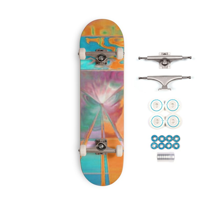 A Reef aFire Accessories Skateboard by Lady Ls Designs Artist Shop