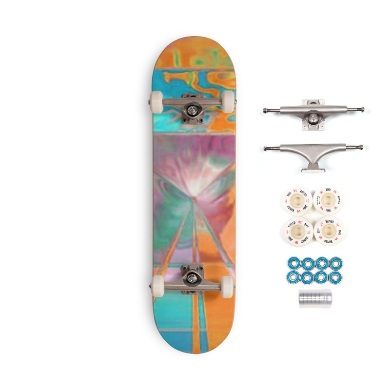 A Reef aFire Accessories Skateboard by Lady Ls Designs Artist Shop