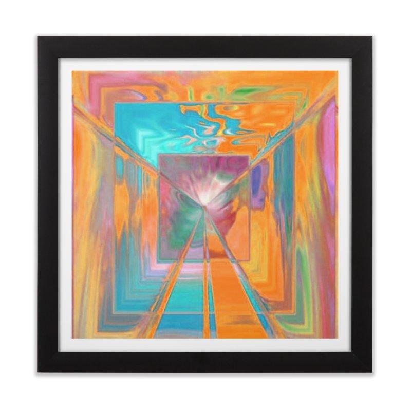 A Reef aFire Home Framed Fine Art Print by Lady Ls Designs Artist Shop