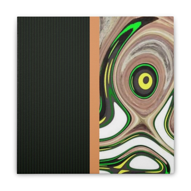 Whos Whooo 2 Home Stretched Canvas by Lady Ls Designs Artist Shop