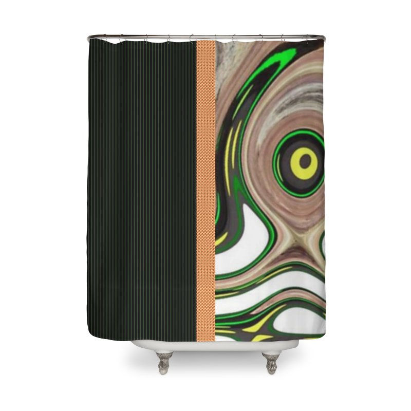 Whos Whooo 2 Home Shower Curtain by Lady Ls Designs Artist Shop