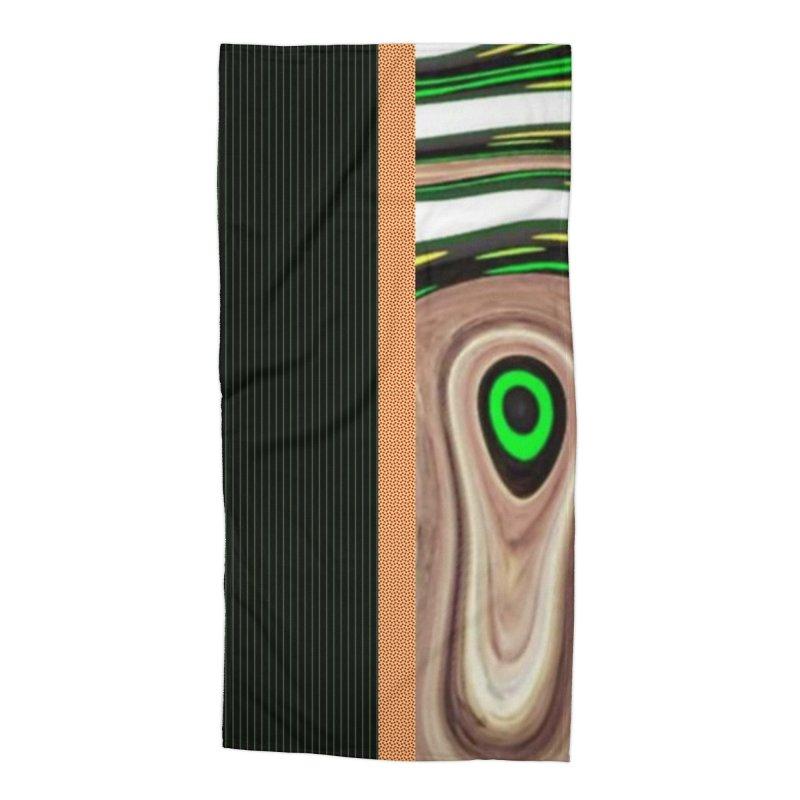 Whos Whooo 1 Accessories Beach Towel by Lady Ls Designs Artist Shop