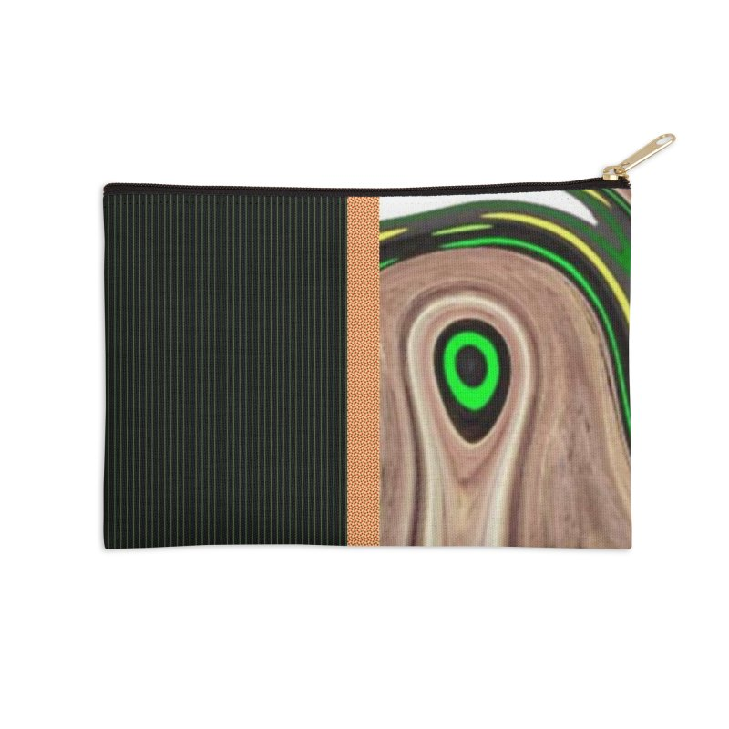 Whos Whooo 1 Accessories Zip Pouch by Lady Ls Designs Artist Shop