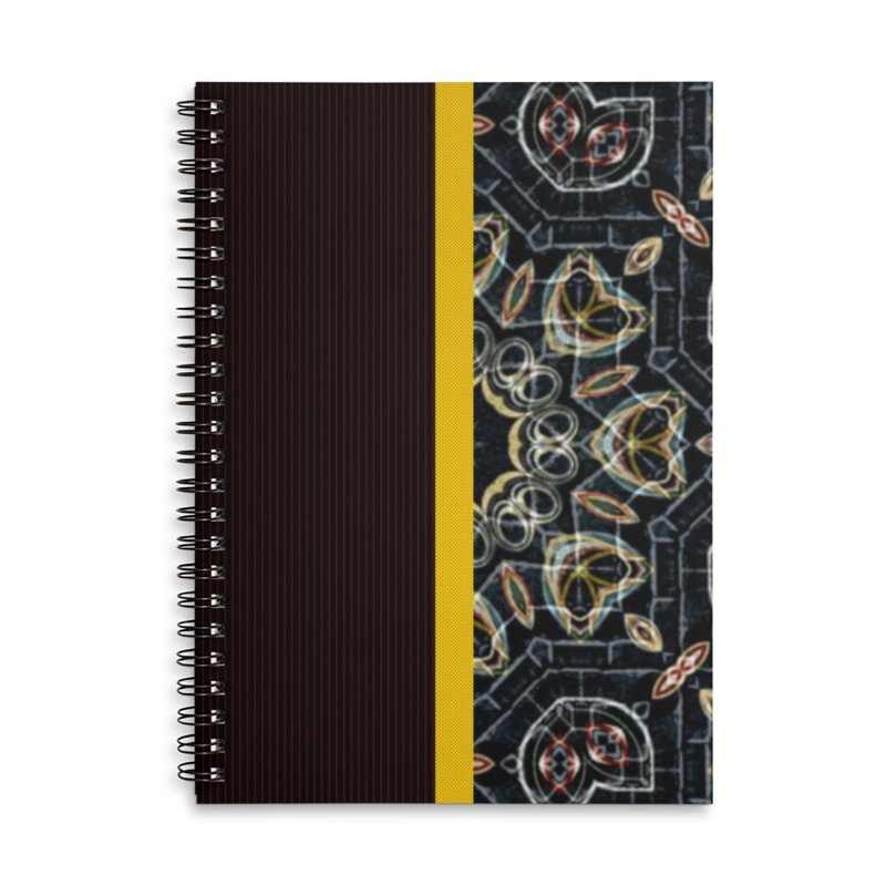 Tollan Explosion 1 Accessories Notebook by Lady Ls Designs Artist Shop