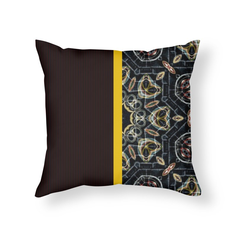 Tollan Explosion 1 Home Throw Pillow by Lady Ls Designs Artist Shop