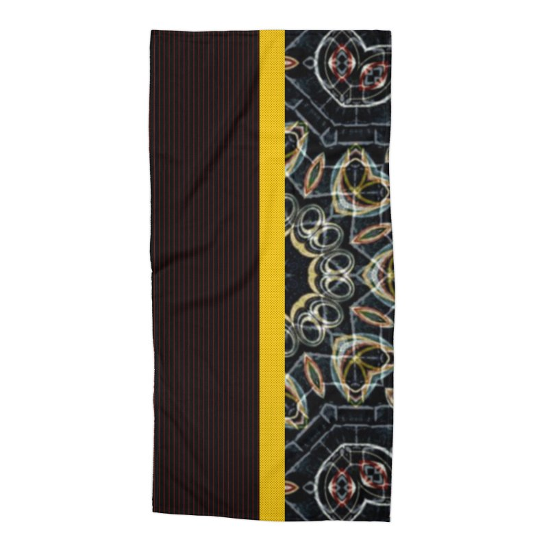 Tollan Explosion 1 Accessories Beach Towel by Lady Ls Designs Artist Shop