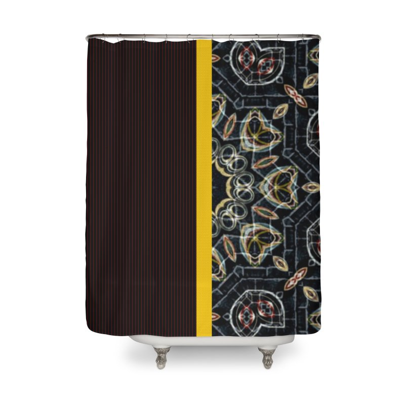 Tollan Explosion 1 Home Shower Curtain by Lady Ls Designs Artist Shop