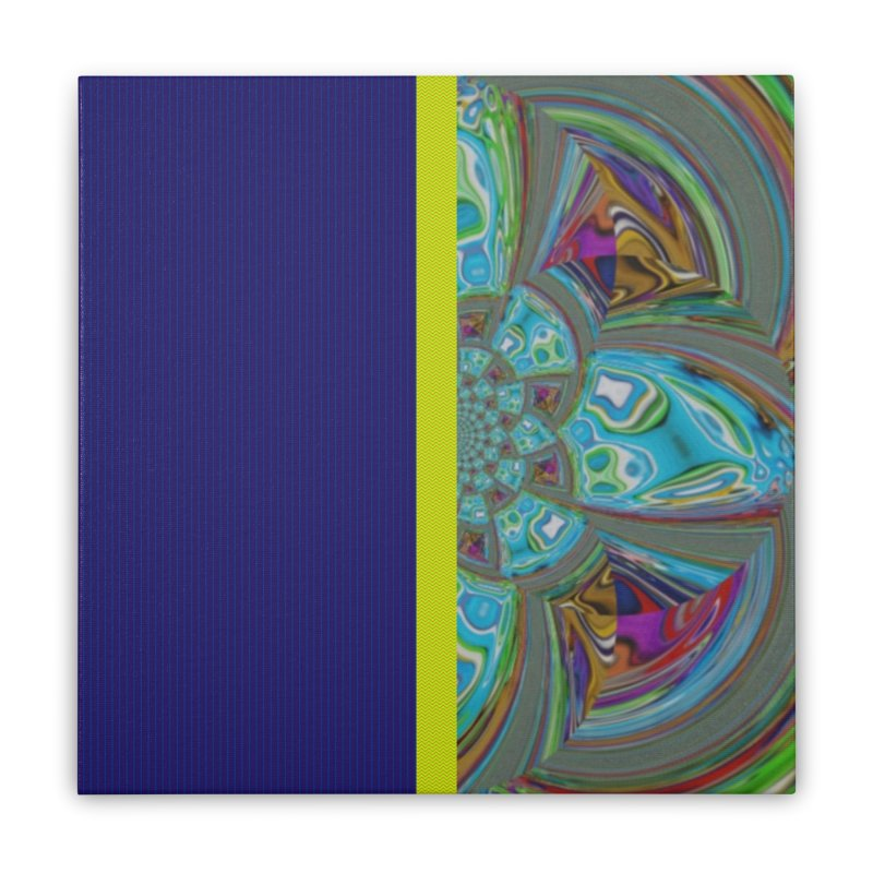 Tip Top T. Home Stretched Canvas by Lady Ls Designs Artist Shop