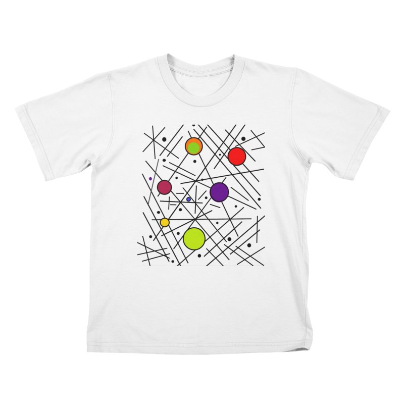 Seeing Spots Kids T-Shirt by Lady Ls Designs Artist Shop