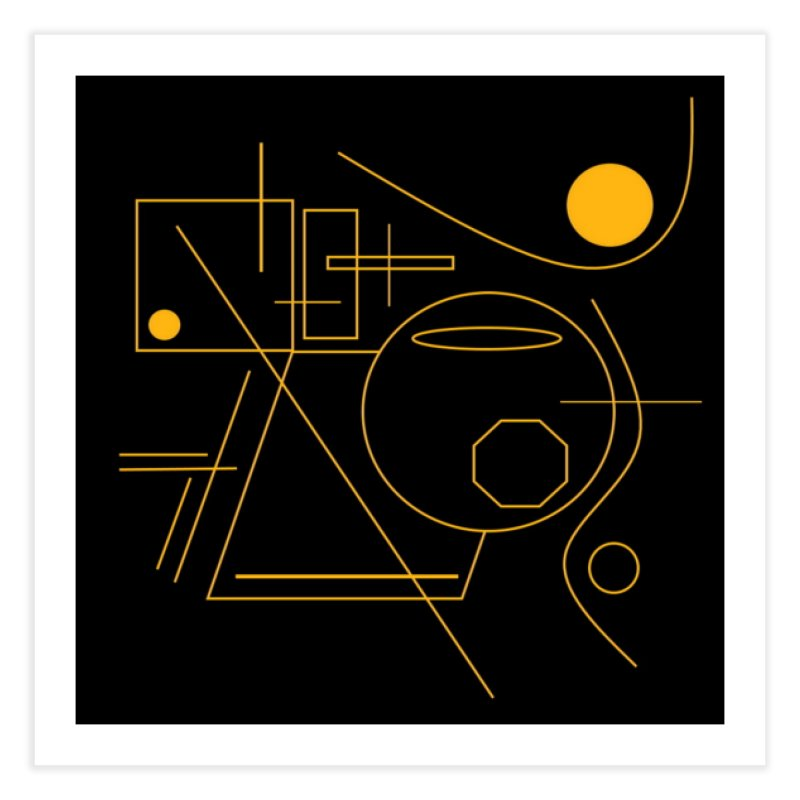 Golden Laps Home Fine Art Print by Lady Ls Designs Artist Shop