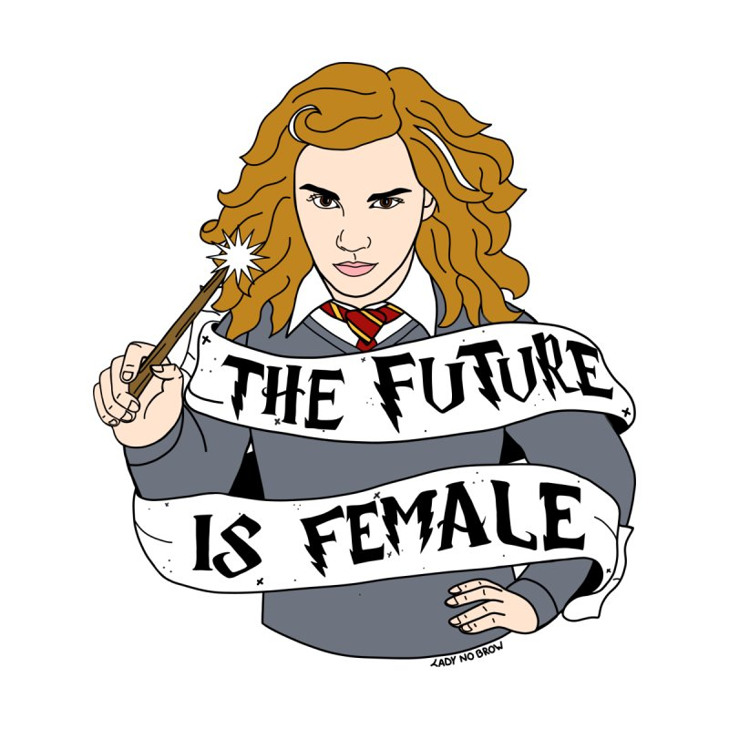 Hermione Granger - The Future Is Female by ladynobrow's Artist Shop