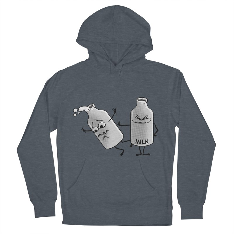Bad Milk Men's Pullover Hoody by laihn's Artist Shop