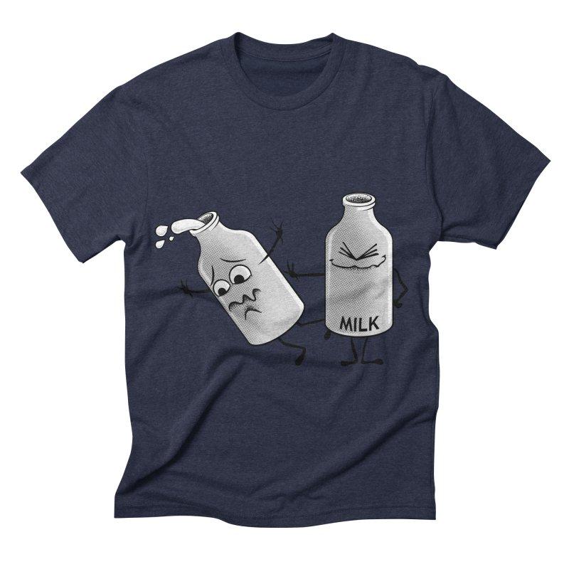 Bad Milk Men's Triblend T-shirt by laihn's Artist Shop