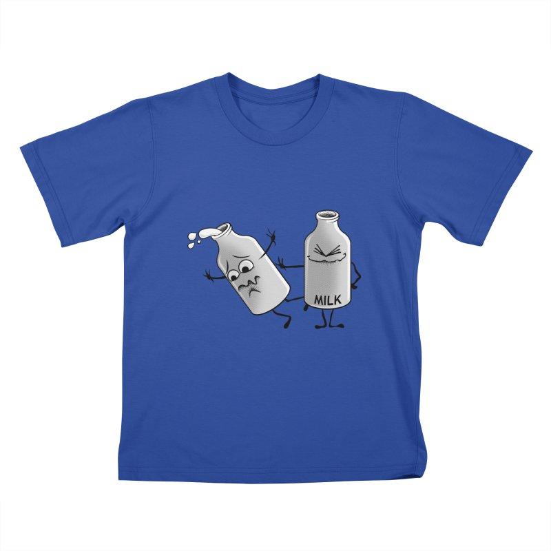 Bad Milk Kids T-shirt by laihn's Artist Shop