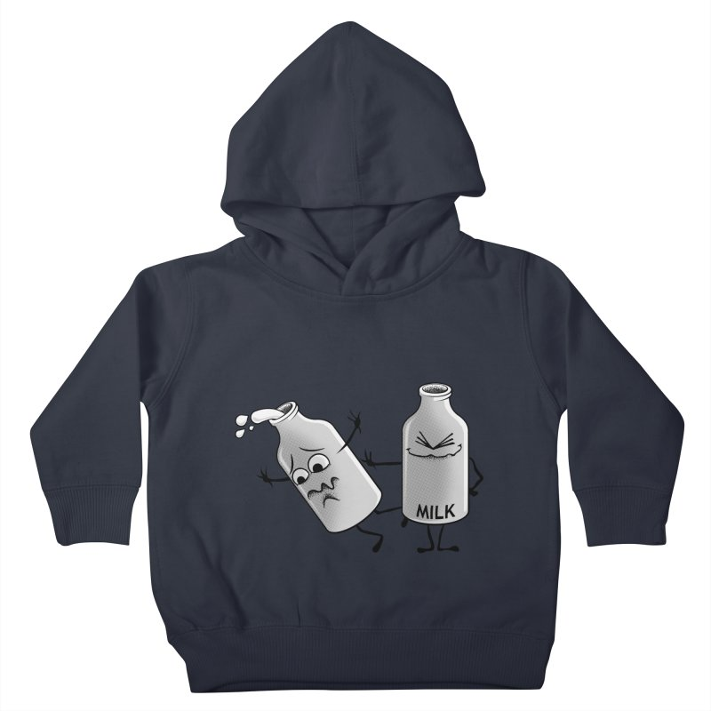 Bad Milk Kids Toddler Pullover Hoody by laihn's Artist Shop