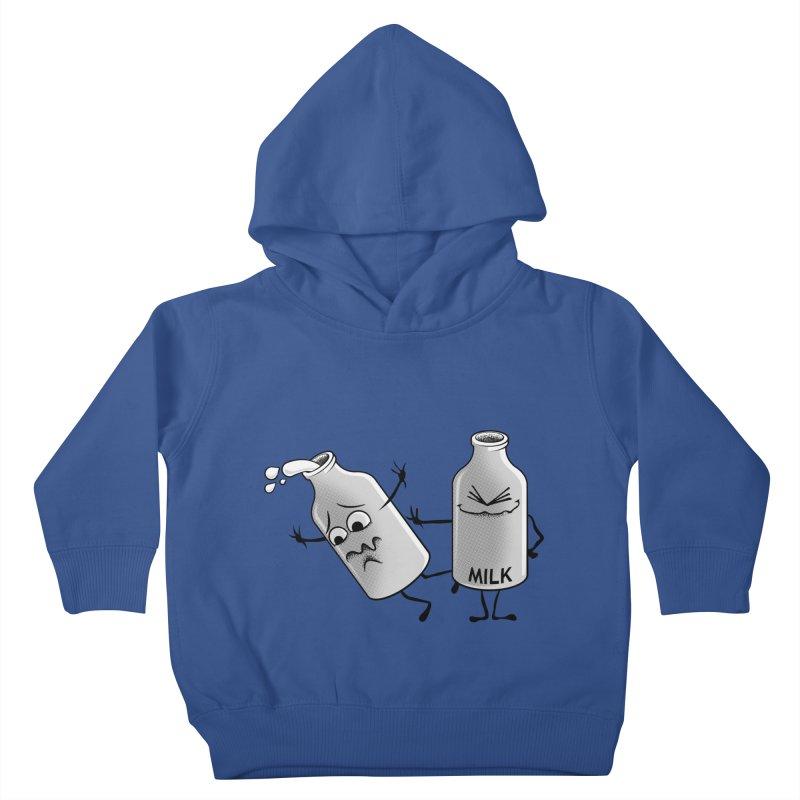 Bad Milk Kids Toddler Pullover Hoody by laihn's Artist Shop