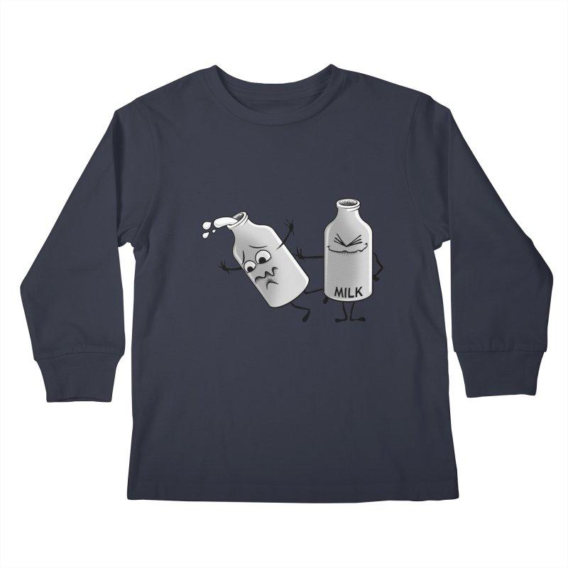 Bad Milk Kids Longsleeve T-Shirt by laihn's Artist Shop