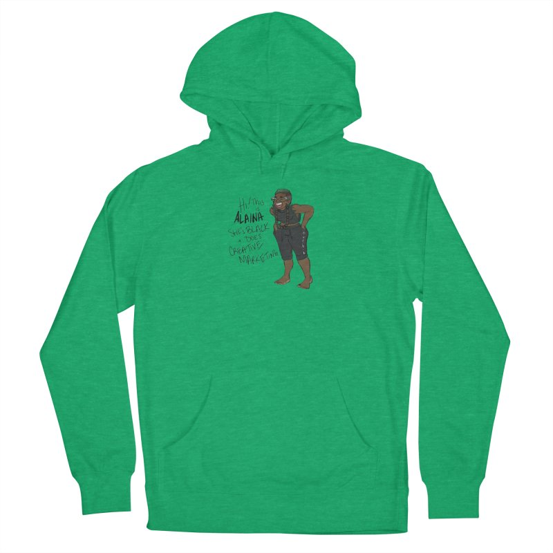 Hi! This is Alaina. And she's FADED. Men's French Terry Pullover Hoody by LAINWEAR