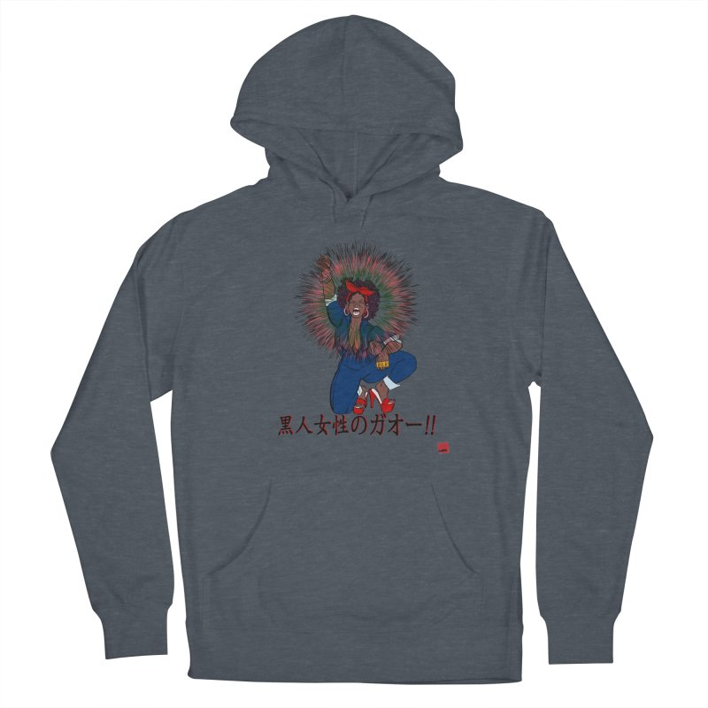 BLKWMN: Gao Edition Men's French Terry Pullover Hoody by LAINWEAR