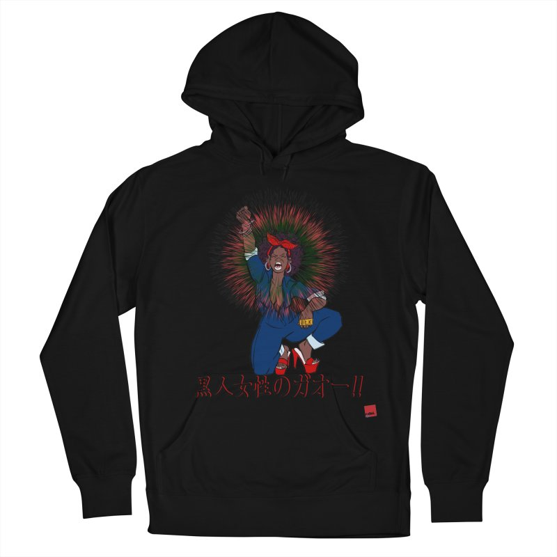 BLKWMN: Gao Edition Men's French Terry Pullover Hoody by rebelQuo