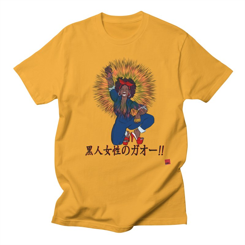 BLKWMN: Gao Edition Men's Regular T-Shirt by rebelQuo