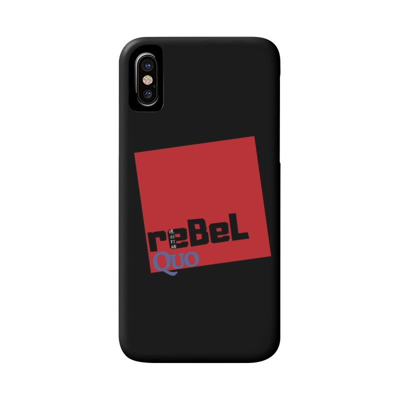 rebelQuo Logo Accessories Phone Case by rebelQuo