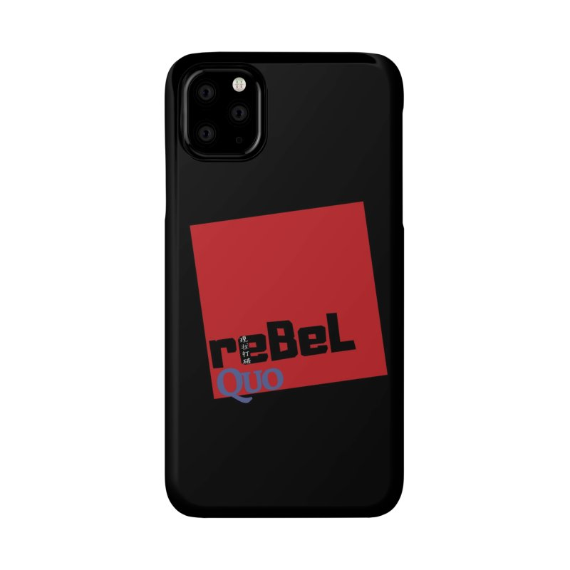rebelQuo Logo Accessories Phone Case by rebelQuo
