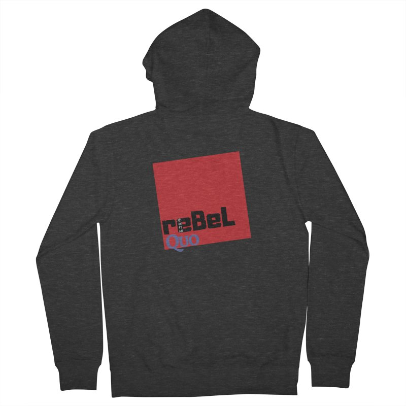 rebelQuo Logo Men's French Terry Zip-Up Hoody by rebelQuo