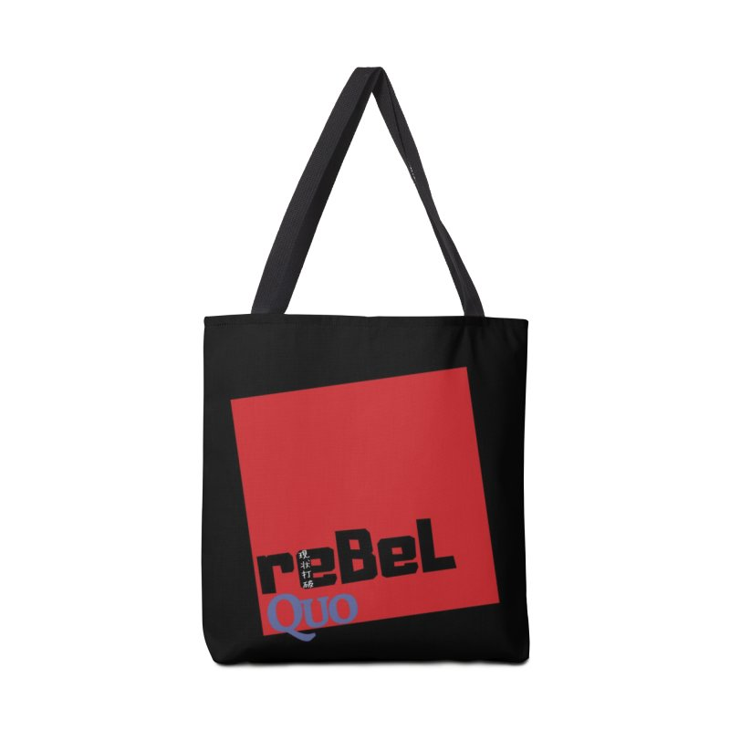 rebelQuo Logo Accessories Tote Bag Bag by LAINWEAR