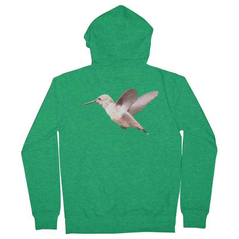D03 - Hummingbird Women's Zip-Up Hoody by LajarinDream