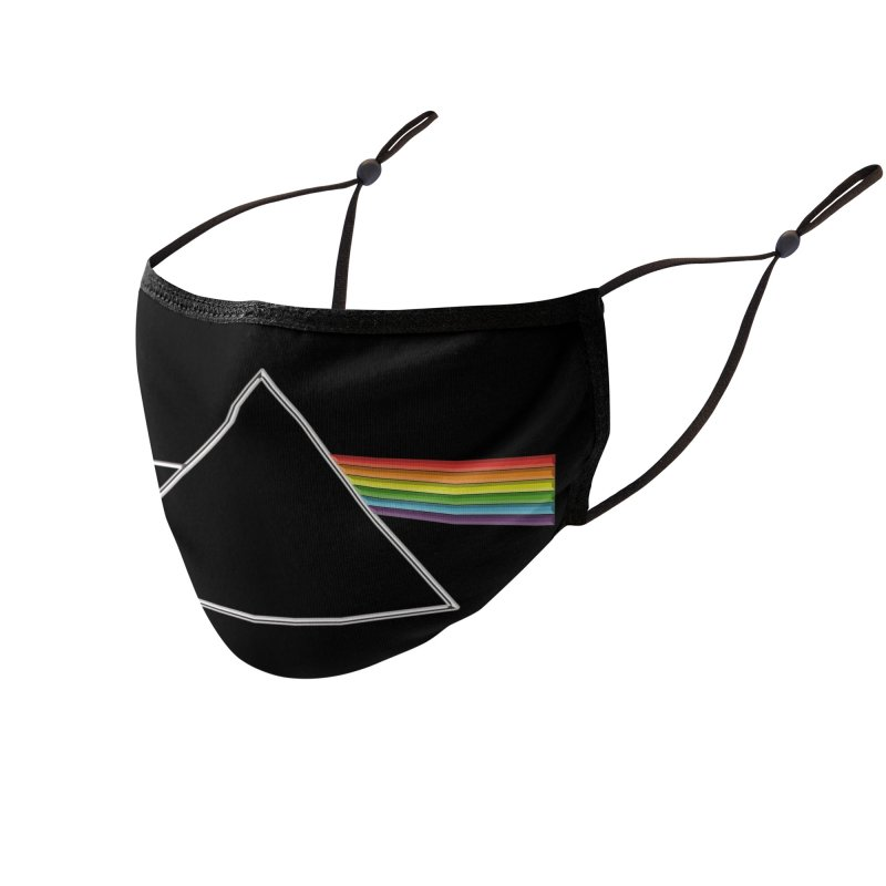 D04 - Isaac Newton Prism Experiment Accessories Face Mask by LajarinDream