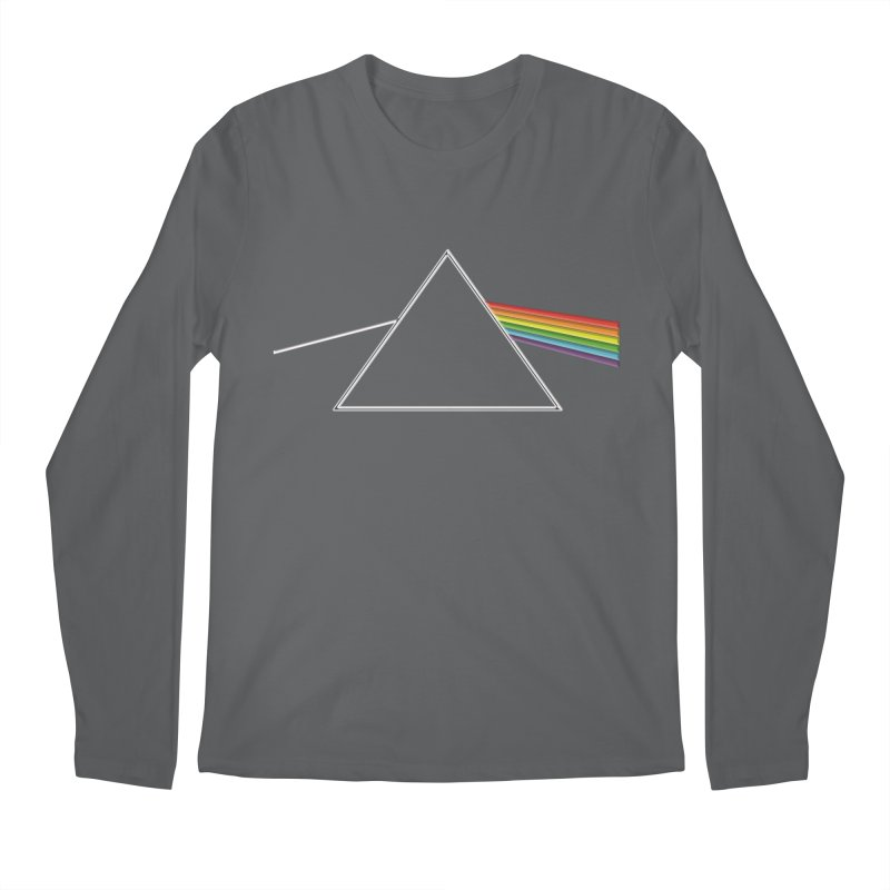D04 - Isaac Newton Prism Experiment Men's Longsleeve T-Shirt by LajarinDream