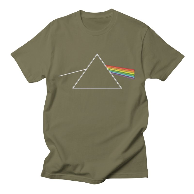 D04 - Isaac Newton Prism Experiment Men's T-Shirt by LajarinDream