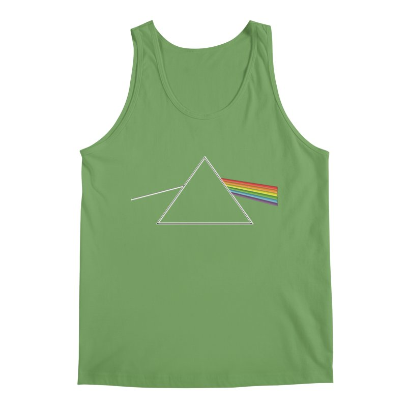 D04 - Isaac Newton Prism Experiment Men's Tank by LajarinDream
