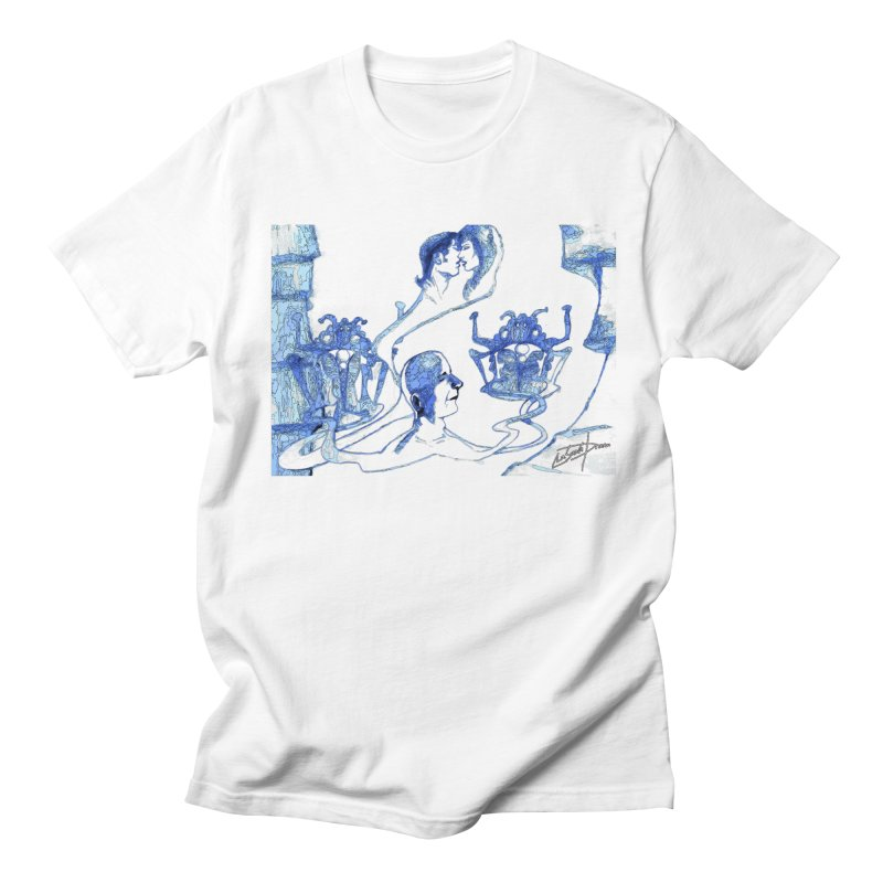 PC29 - Nubes Vivere Scene Men's T-Shirt by LajarinDream