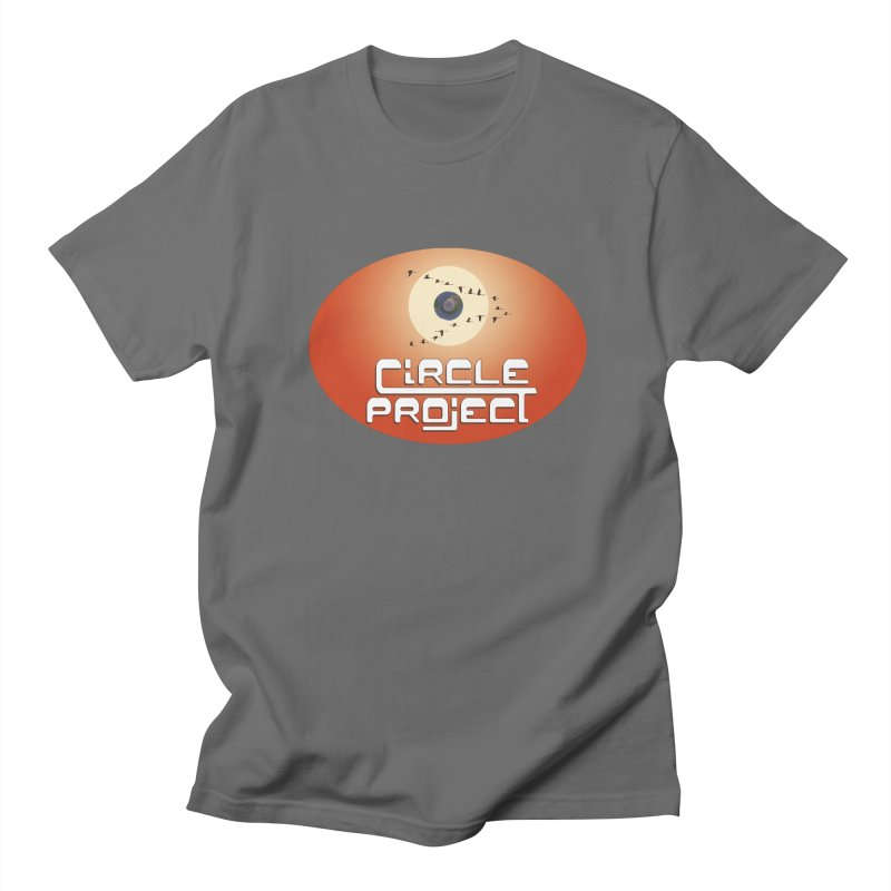 Circle Project Men's T-Shirt by LajarinDream